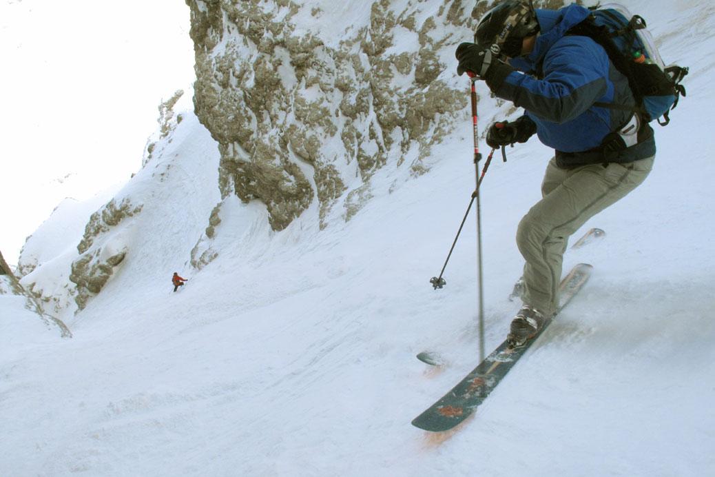 Freeride Skitour Dolomiten