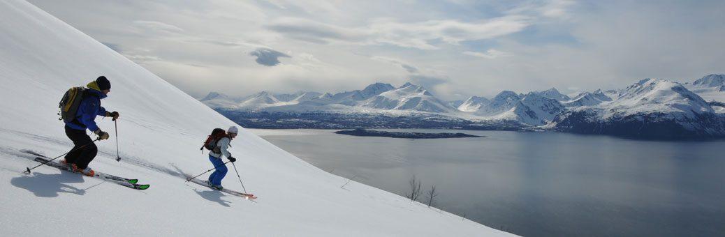 skitouren lyngen norwegen skitourenreise