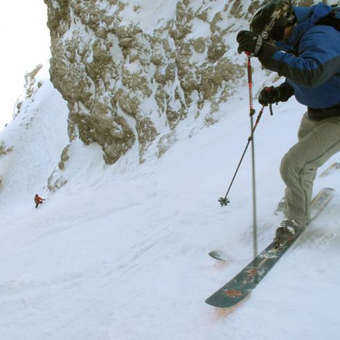 Skitourenreisen Dolomiten Südtirol Italien mit Bergführer Paul Held