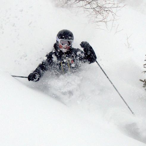 Freeriden Off-Piste Variantenskifahren Skitouren mit Bergführer Paul Held