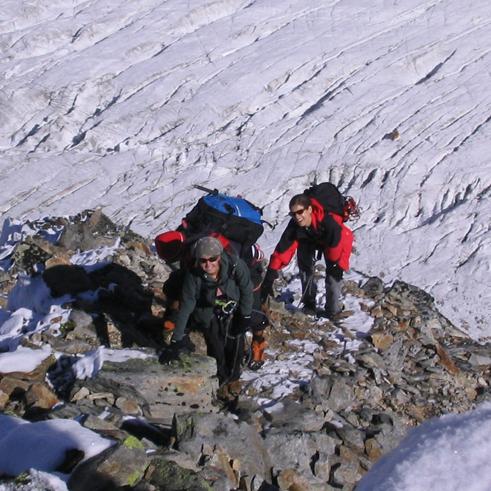 Hochtouren in den Alpen mit Bergführer Paul Held