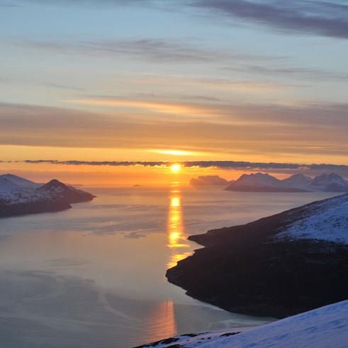 Skitourenreisen Island mit Bergführer Paul Held